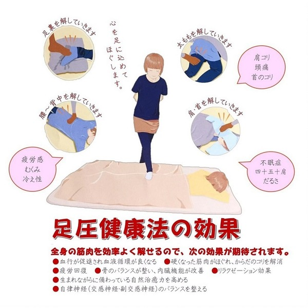 足圧ボディケア(50分)【三重県】