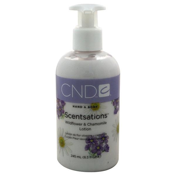 CND センセーション ハンド&ボディローション ワイルドフラワー&カモミール 245ml 心を落ちつかせるワイルドフラワー&カモミールの幸福感あふれる香り