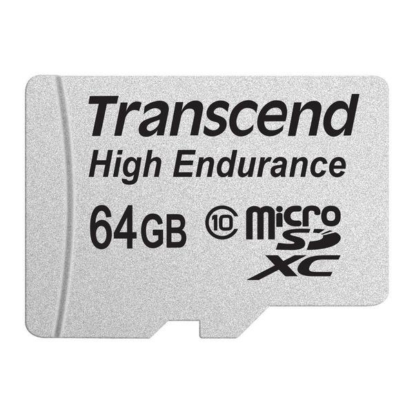 Transcend 高耐久 microSDXCカード MLCフラッシュ搭載 ( ドライブレコーダー向けメモリ ) 64GB Class10  TS64GUSDXC10V