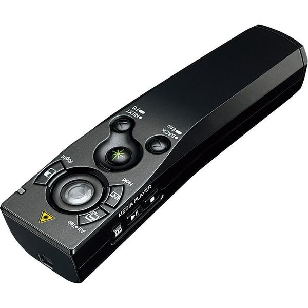 コクヨ 緑色レーザーポインター マウス機能付 UD形状 ELA-MGU91