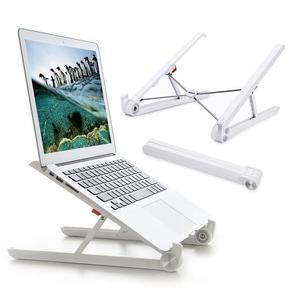 パソコンスタンド Elekin PCスタンド 折りたたみ式 放熱 携帯便利 長時間のパソコン作業 猫背 肩こり ラップトップスタンド PCアクセサリー ノートパソコン スタンド 15.6インチまで対応/タブレット/ipad/macbook