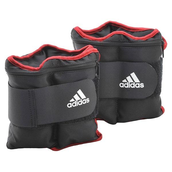 adidas(アディダス) トレーニング アジャスタブル・アンクル/リストウエイト プレート 1kg×2個 ADWT-12229