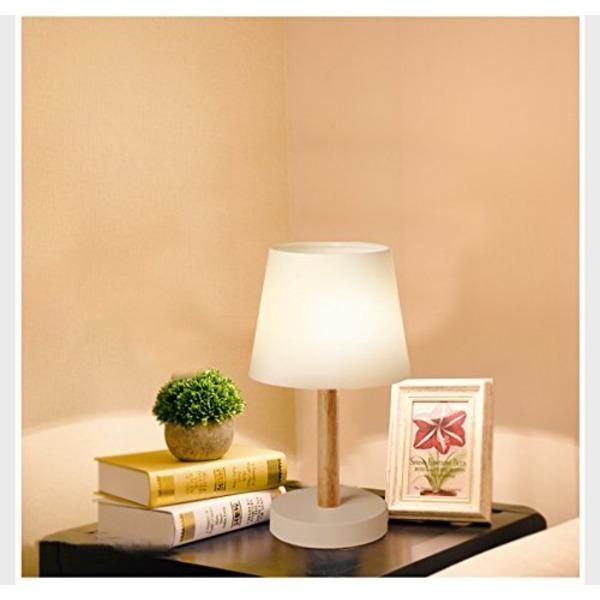 テーブルライトWangsda 卓上スタンド 和風スタンド ベッドサイドランLED照明 プ インテリアライト 寝 旅館