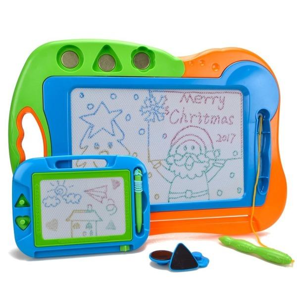 Wishtime 知育玩具シリーズ おもちゃのお絵かきボード 大小2枚セット (色指定不可) HS226A-C8006