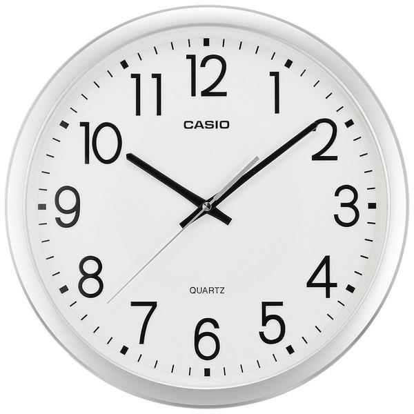 カシオ アナログ掛時計 スムース運針 IQ-77-8JF