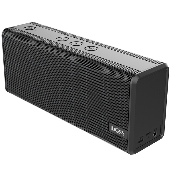 DOSS Soundbox color BluetoothスピーカーワイヤレスブルートゥーススピーカーUSB充電12時間長連続再生AUX-in IOS Android対応
