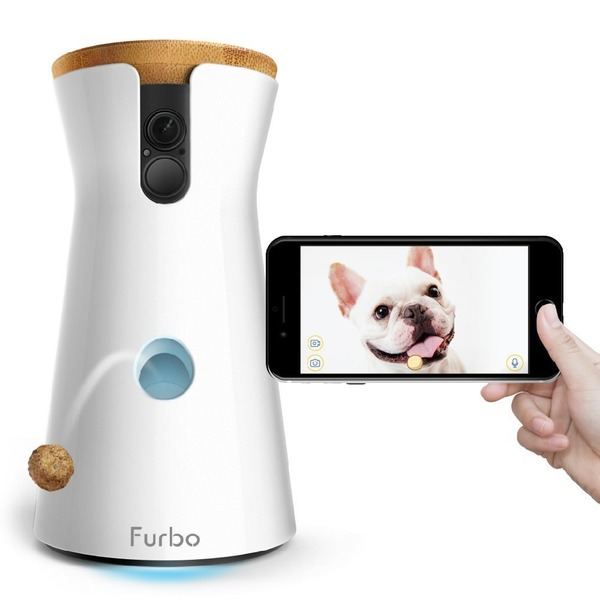Furbo ドッグカメラ 飛び出すおやつ 2Wayオーディオ iOS Android対応 AI搭載