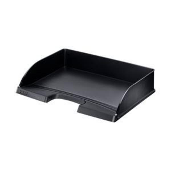 (業務用セット) ライツ レタートレー 横型 A4 スタンダード ブラック 型番:5218-00-95 単位:1個 【×3セット】