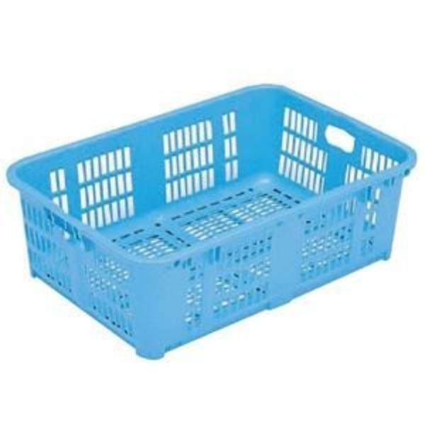 【5個セット】プラスケットNo.1000 金具なし ブルー コンテナ