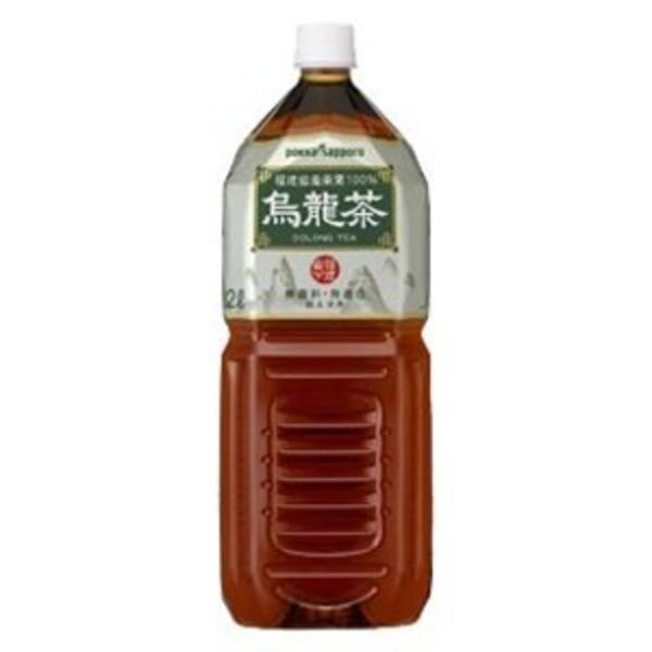 【まとめ買い】ポッカサッポロ 烏龍茶 ペットボトル 2.0L 6本入り(1ケース)