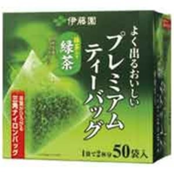 (業務用20セット)伊藤園 プレミアムティーバッグ 緑茶50P
