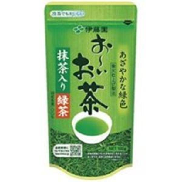 (業務用90セット)伊藤園 おーいお茶 抹茶入り緑茶 100g/袋 【×90セット】