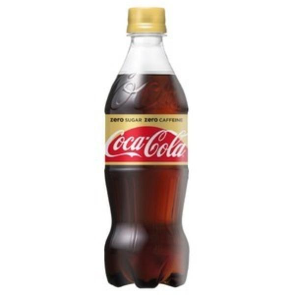 【飲料】コカ・コーラ ゼロ カフェイン (コカコーラ) Coca Cola Zero 500ml 1ケース(24本入)カフェインゼロ