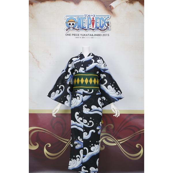レディース浴衣+平帯セット モンキー・D・ルフィ フリーサイズ