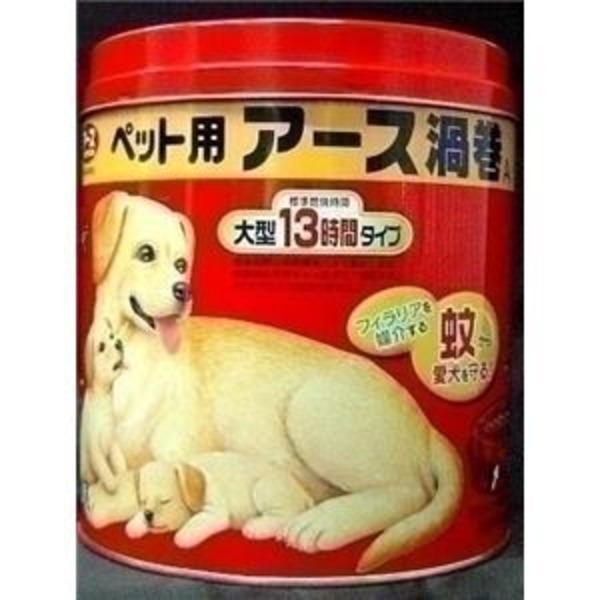 アース ペット用大型13時間アース渦巻E 52巻缶 【ペット用品】