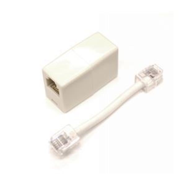 (まとめ)ミヨシ(MCO)モジュラ-極性変換キット 6極6芯/4芯対応 白 TA-60R【×10セット】