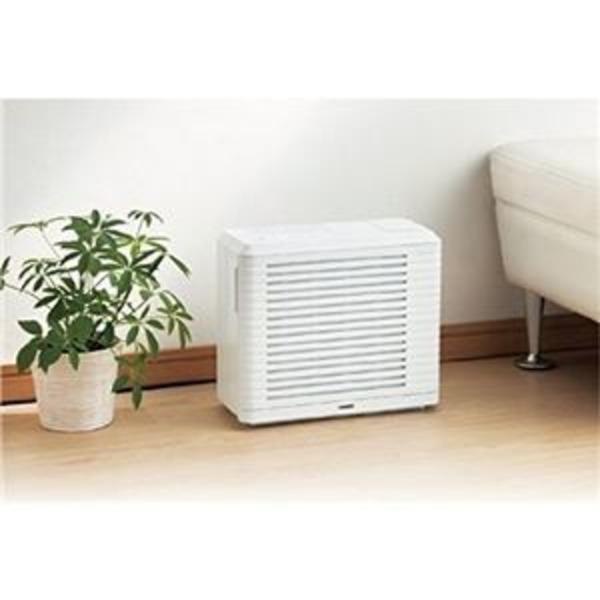 ツインバード パーソナル加湿空気清浄機 ホワイト AC-4252W