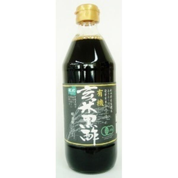 有機玄米黒酢500ml 12本セット