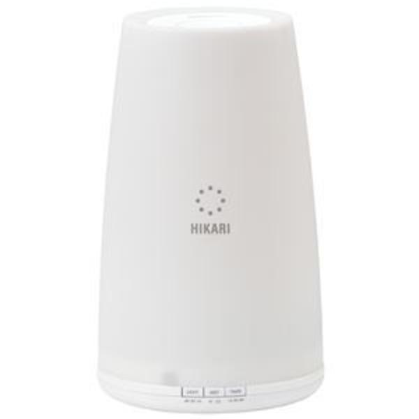 アピックス 超音波式アロマ加湿器 ホワイト AHD-130-WH