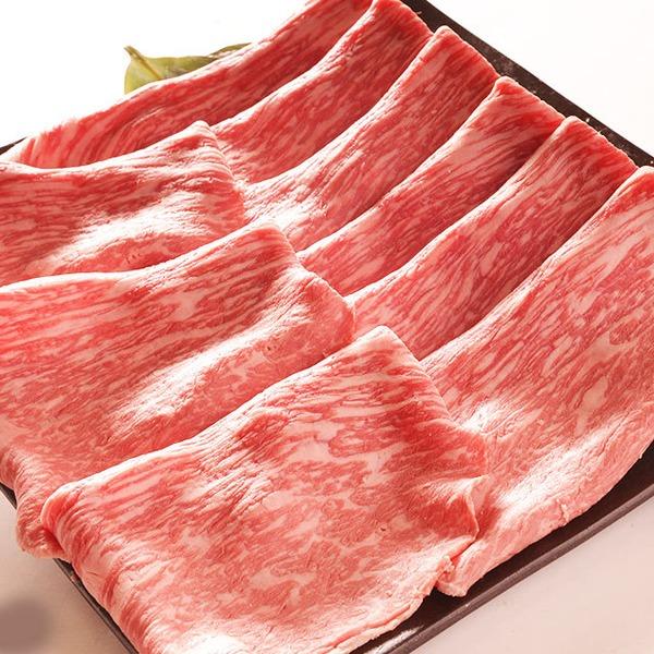 銀座牛もも肉すき焼 1K  すき焼だれ付き(無添加)桐箱・証明書付き