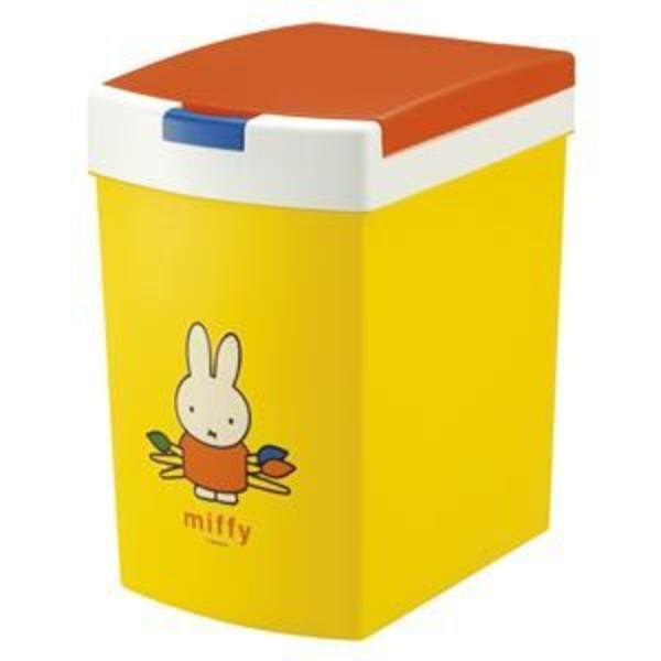 おむつポット/フタ付きゴミ箱 【15L】 ミッフィー 蓋:簡単オープン 消臭剤ケース付き 『おむつポイポイ』