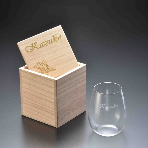 葡萄酒器(名前入り) うすはりグラス