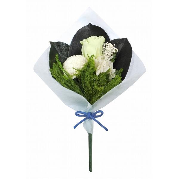 プリザーブド仏花ほのかピンポンマムホワイト