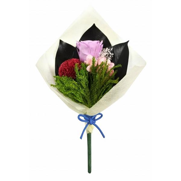 プリザーブド仏花ほのかピンポンマムレッド