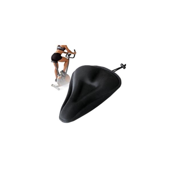 【ワケあり】SyuuYou 自転車用サドルカバー 低反発クッション ジェル入り 肉厚 GELサドルカバー 内蔵ソフトフィットサドルカバー ブラック