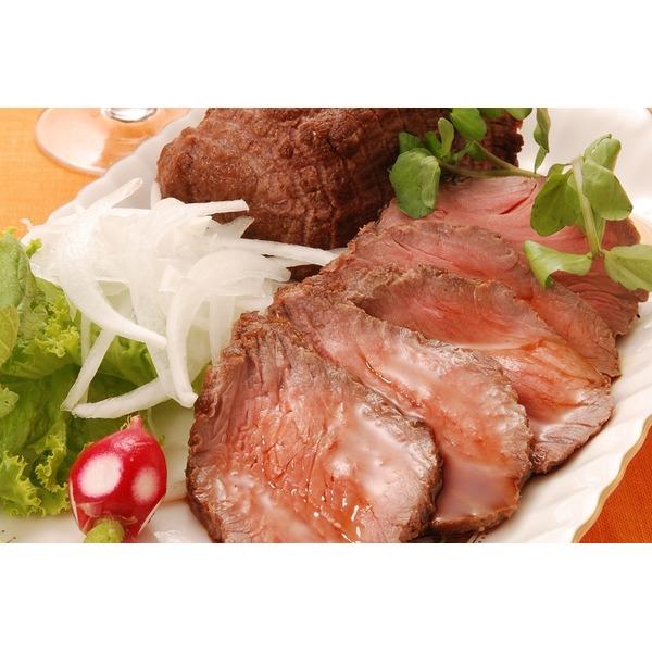 大阪『焼肉 牛善』黒毛和牛ローストビーフ200g×2本、牛善特製ソース40g×2袋