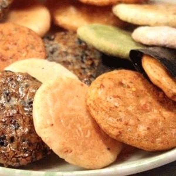 草加煎餅(せんべい) 「小丸ミックス」 500g入
