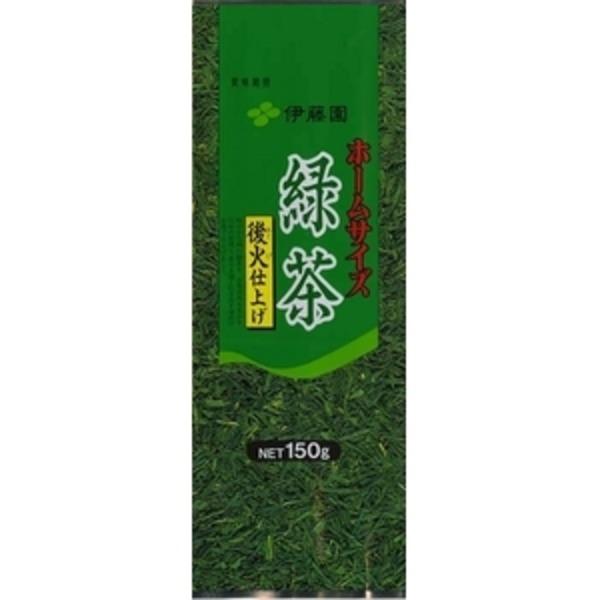【ケース販売】伊藤園 ホームサイズ緑茶【150g×10本セット】 まとめ買い