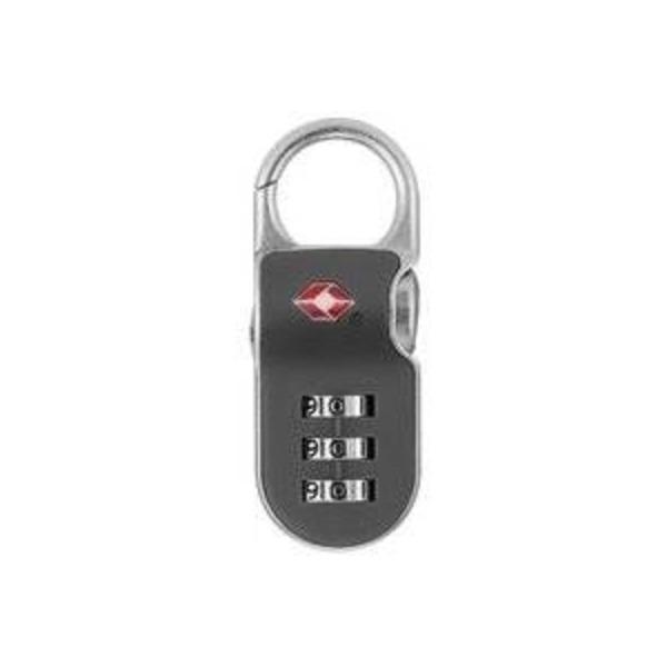 【防犯グッズ:旅行用】YALE(エール) 旅行用TSAロック(CLIP ON LOCK)グレー