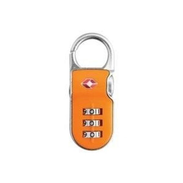 【防犯グッズ:旅行用】YALE (エール)旅行用TSAロック(CLIP ON LOCK) オレンジ