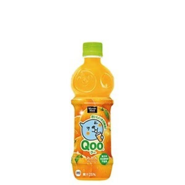 【まとめ買い】コカ・コーラ ミニッツメイド Qoo(クー) みかん ペットボトル 470ml×24本(1ケース)