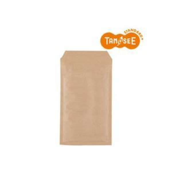 (まとめ)TANOSEE クッション封筒エコノミー 茶 内寸130×215mm 200枚入×2パック