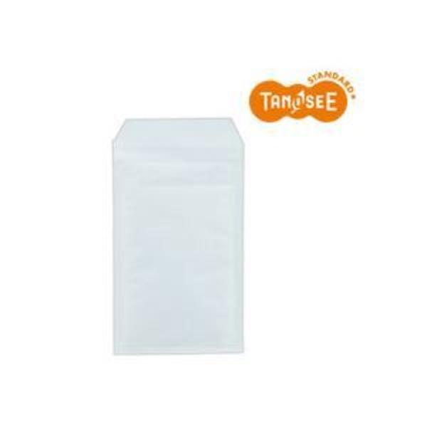 (まとめ)TANOSEE クッション封筒エコノミー ホワイト 内寸130×215mm 200枚入×2パック