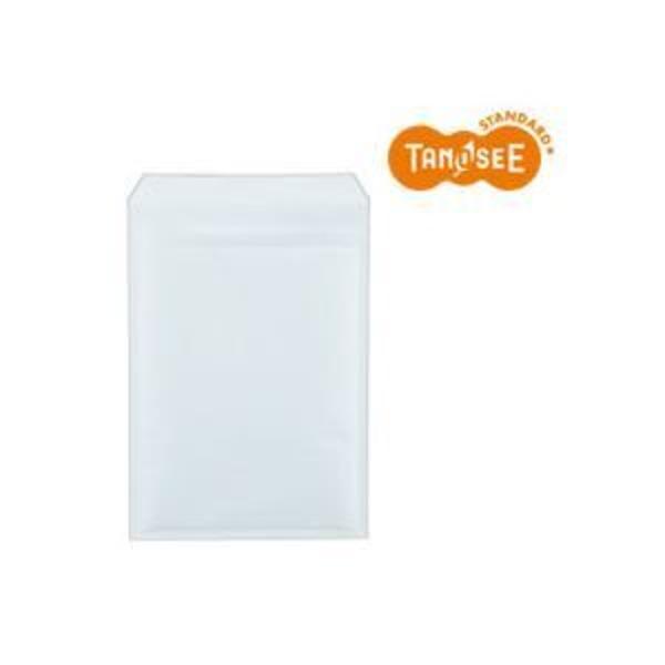 (まとめ)TANOSEE クッション封筒エコノミー ホワイト 内寸235×330mm 100枚入×2パック
