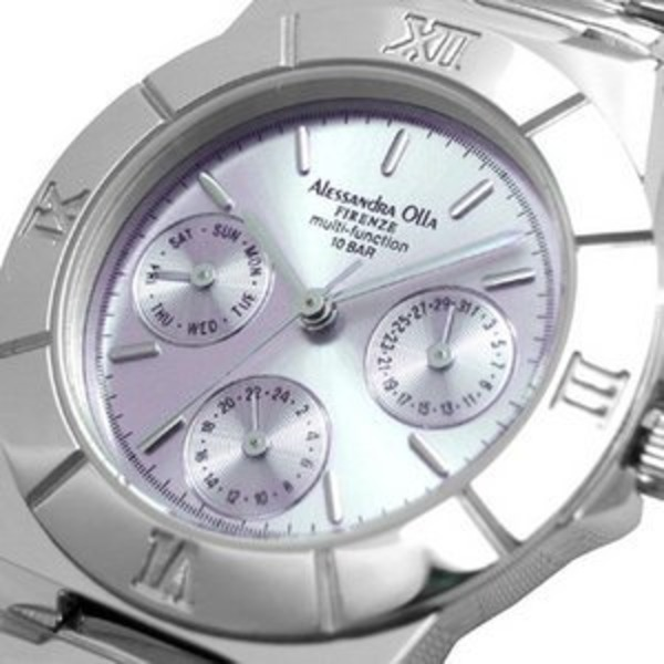 Alessandra Olla アレサンドラオーラ 腕時計 マルチファンクション レディースウォッチ AO-900-7 パープル