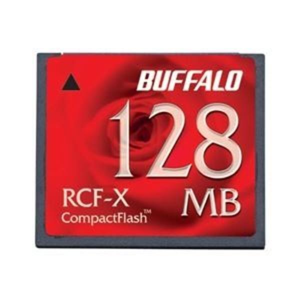 バッファロー コンパクトフラッシュ ハイコストパフォーマンスモデル 128MB RCF-X128MY