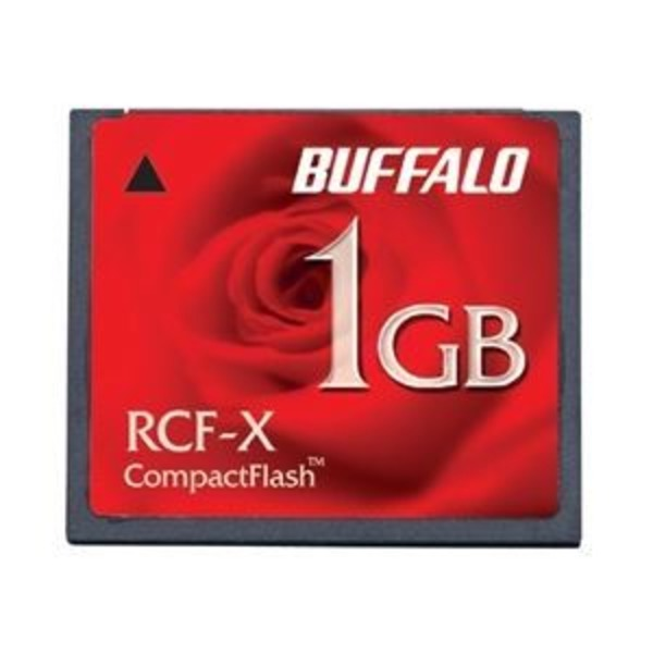 バッファロー コンパクトフラッシュ ハイコストパフォーマンスモデル 256MB RCF-X256MY