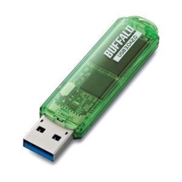 バッファロー USB3.0対応 USBメモリー スタンダードモデル 8GB グリーン RUF3-C8GA-GR