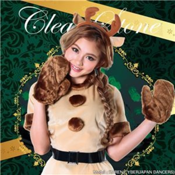 【クリスマスコスプレ 衣装】キャンディートナカイ Ladies