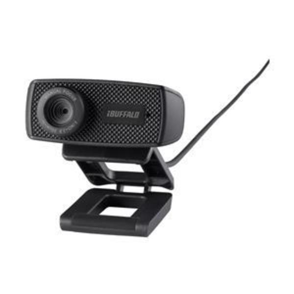 バッファロー(サプライ) マイク内蔵120万画素Webカメラ HD720p対応モデル ブラック BSWHD06MBK