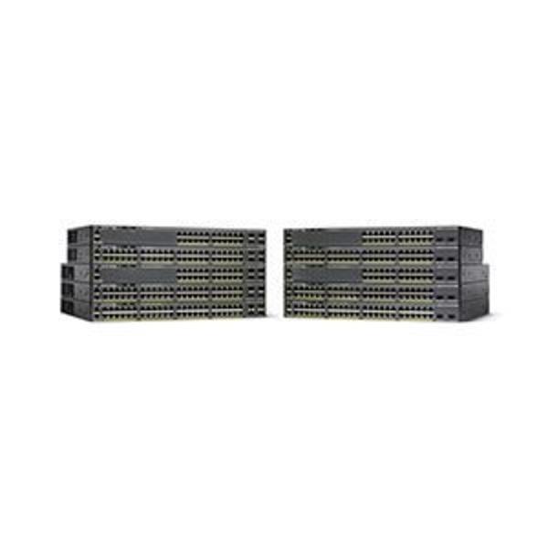 Cisco Systems 【保守購入必須】Catalyst 2960-X 24 GigE PoE 370W 4 x 1GSFP LAN Base WS-C2960X-24PS-L