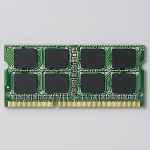 ELECOM(エレコム) RoHS対応 DDR3L-1600(PC3L-12800) 204pinS.O.DIMMメモリモジュール/2GB EV1600L-N2G/RO