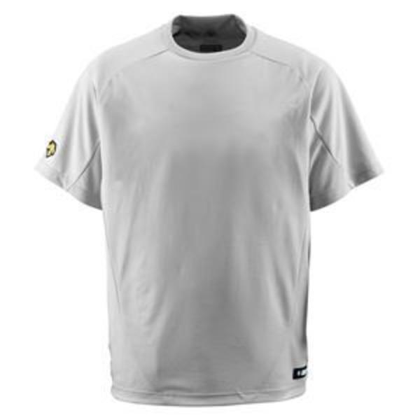 デサント(DESCENTE) ジュニアベースボールシャツ(Tネック) (野球) JDB200 シルバー 140