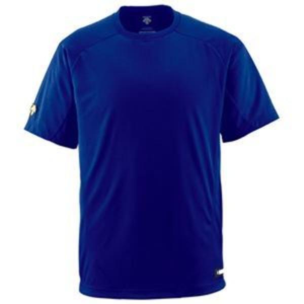 デサント(DESCENTE) ジュニアベースボールシャツ(Tネック) (野球) JDB200 ロイヤル 160