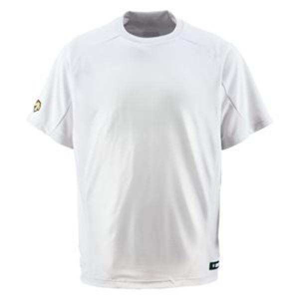 デサント(DESCENTE) ジュニアベースボールシャツ(Tネック) (野球) JDB200 Sホワイト 130