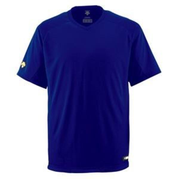 デサント(DESCENTE) ジュニアベースボールシャツ(Vネック) (野球) JDB202 ロイヤル 130